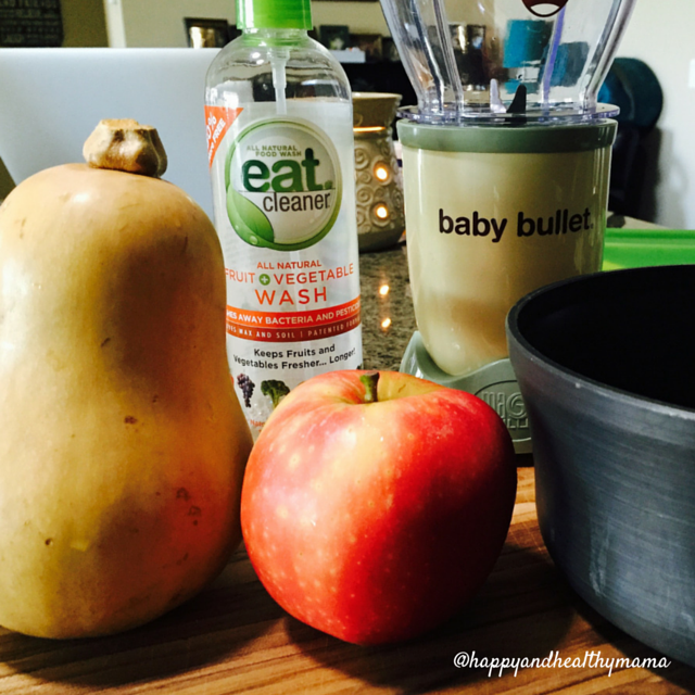 Homemade Baby Food by Happy and Healthy Mama